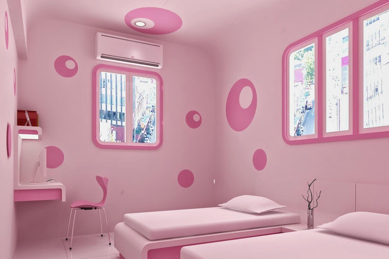 Dormitorio rosado recamara rosado pink debroom for Recamaras rosas