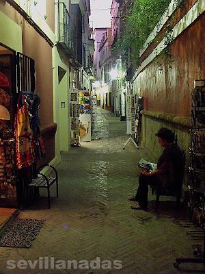 Calle Pimienta en Sevilla