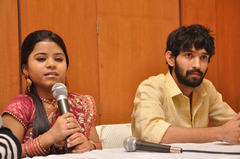 Juhi Aslam and Vikarnt Massey in Patna