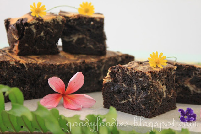 Goodyfoodies Recipe Cream Cheese Marbled Chocolate