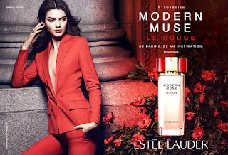Kendall Jenner looks stunning as she poses on set for Estée Lauder fragrance