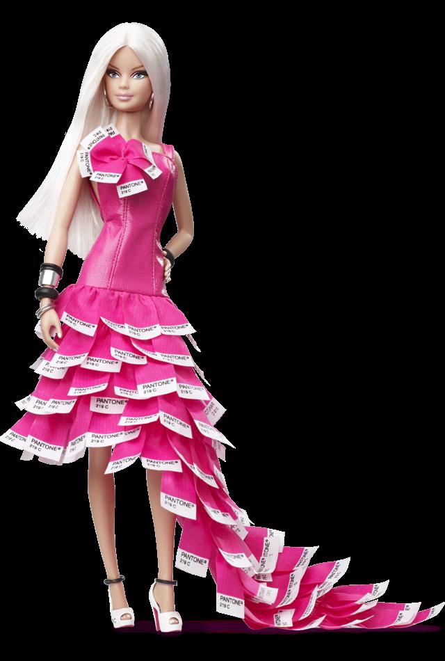 DRESS MATTEL BARBIE DOLL COUNTESS OF RUBIES CHARMEUSE CHIFFON EVENING GOWN