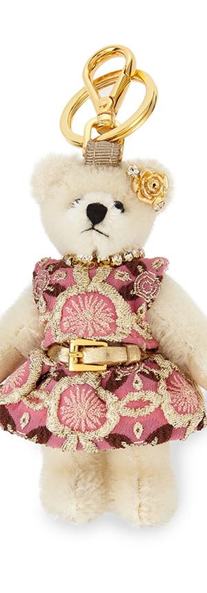 Prada Brigitte Bear Keychain