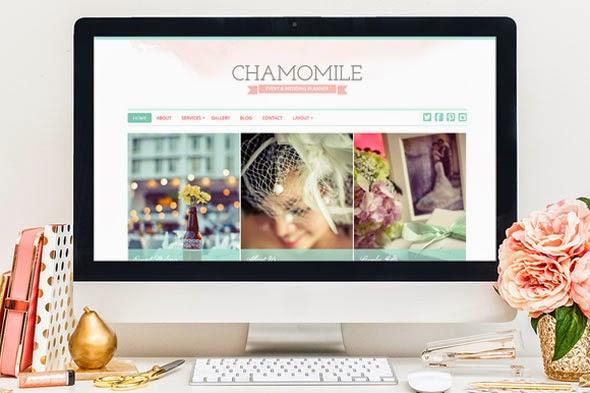 Chamomile WordPress Theme - Creativemarket
