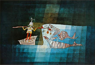 Paul Klee painting - Sinbad the Sailor