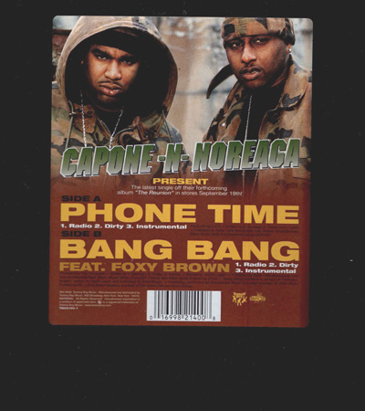 Capone-N-Noreaga – Phone Time (CDM) (2000) (192 kbps)