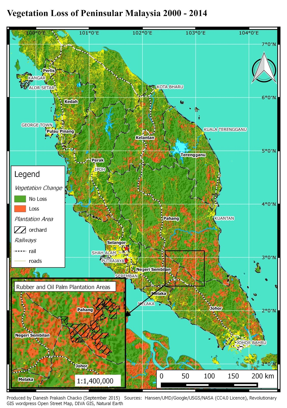 Welcome to daneshs atlas blog vegetation maps and stimulated minds recently i have been inspired by the human footprint maps of national geographic maps human footprint map of africa was built on four layers gumiabroncs Image collections