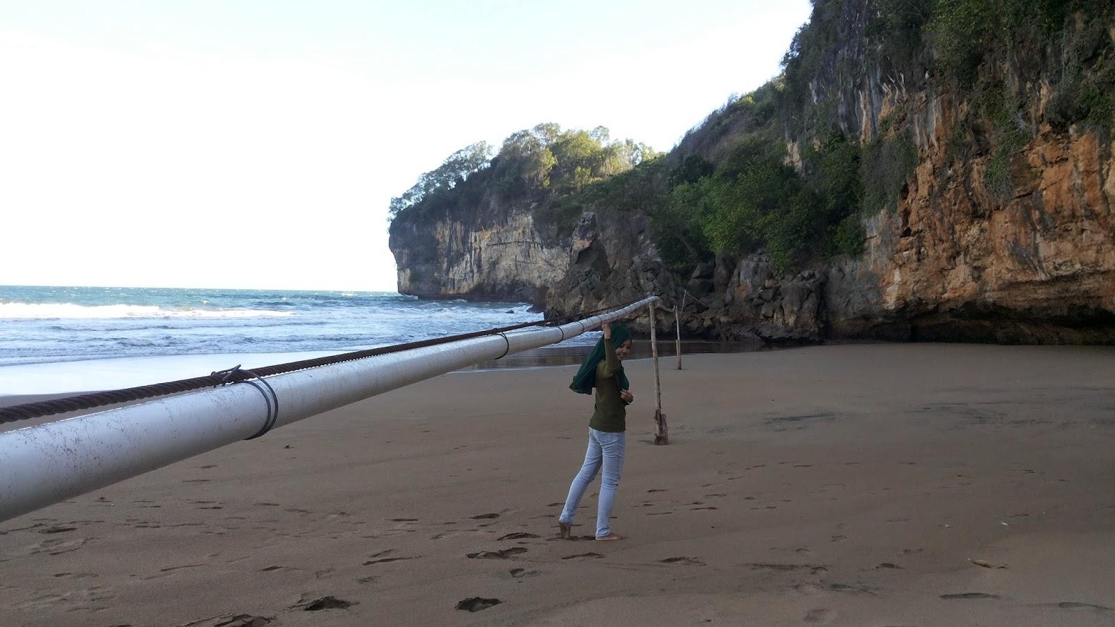 Shellasun Pantai Taman Flyingfox Terpanjang Di Indonesia