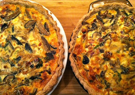 Cream Cheese, Caramelized Onion And Bacon Quiche Recipes — Dishmaps
