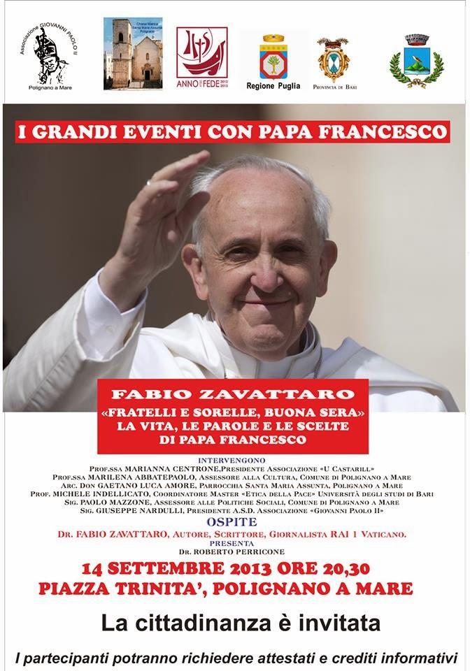 Fabio Zavattaro racconta Papa Francesco