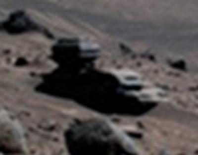nepoznato vozilo na marsu