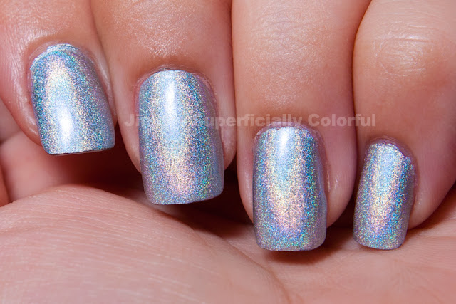 Pupa - Silver Holographic (030)