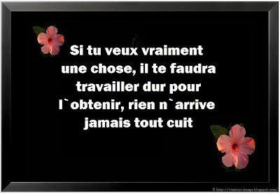 Citation travail en image