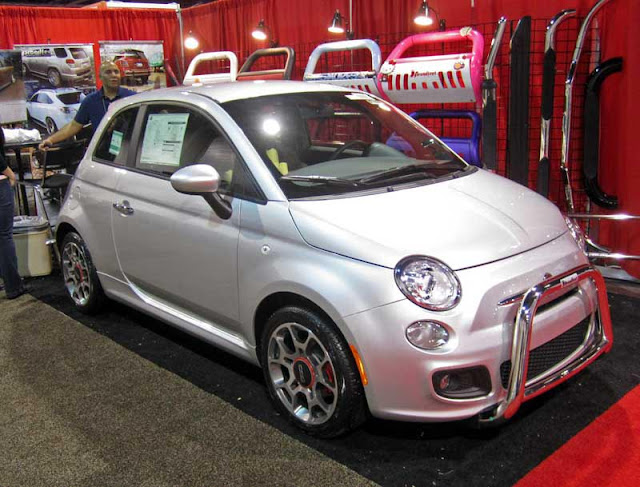 Fiat 500 from the 2011 SEMA Show.
