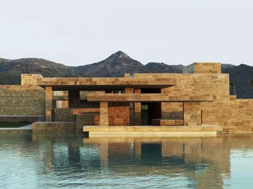 Dự án Yalikavak Marina Complex tại Bodrum, Thổ Nhĩ Kỳ - Kiến trúc sư Emre Arolat thiết kế (lọt vào danh sách công trình mua sắm).