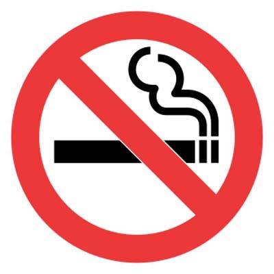 Logo Lambang Dilarang Merokok - no smoking