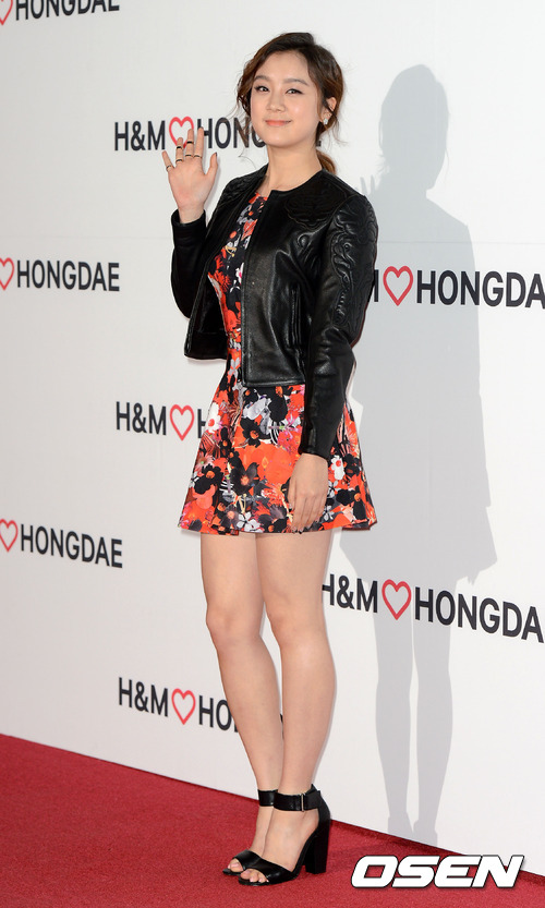 Wonder Girls' adorable Lim at H&M's Event