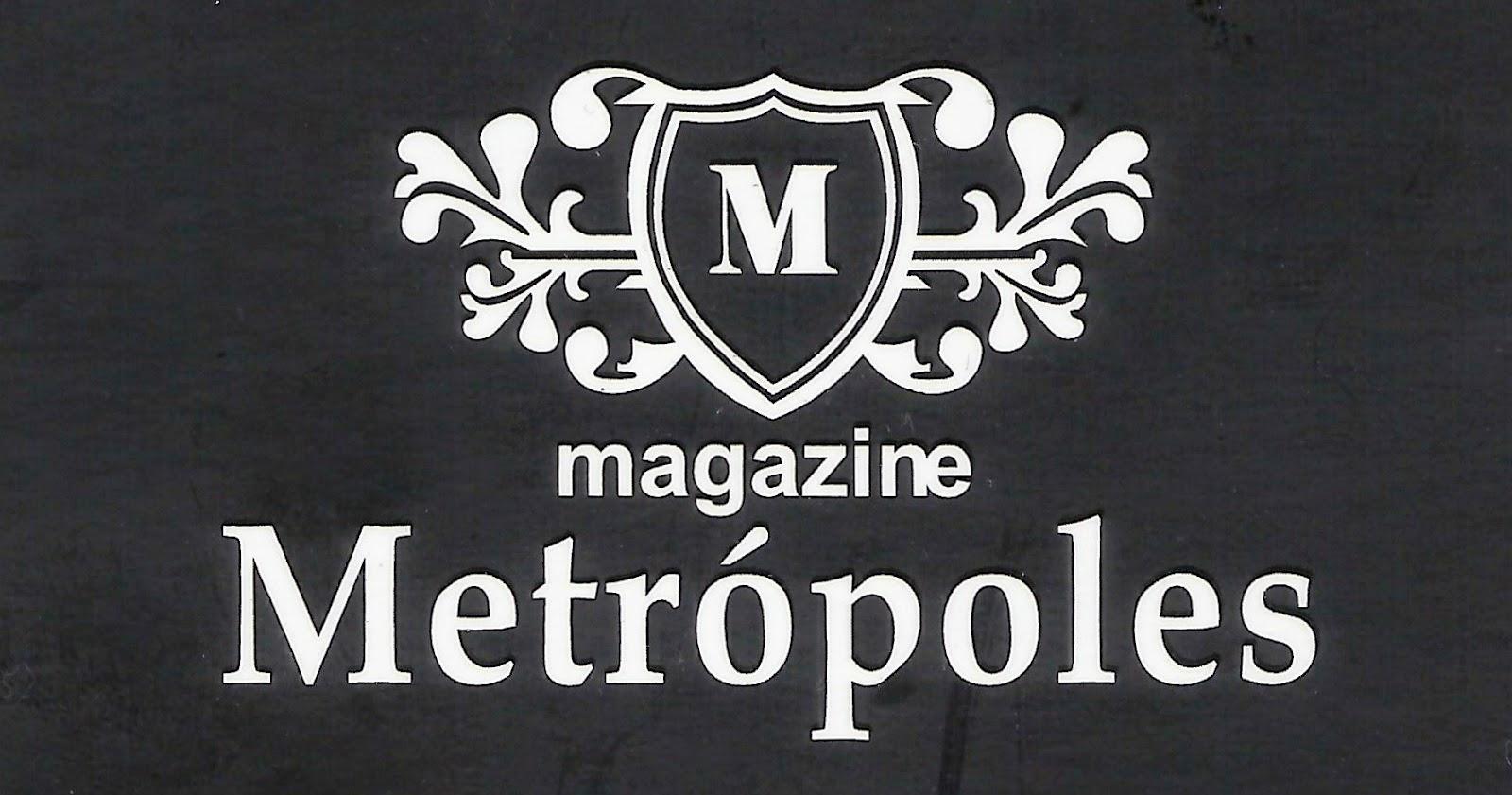 Magazine  Metrópoles Rua. Capitão Lisboa, 657 Centro - tatuí - SP e-mail: contato@magazinemetropoles.com.br Site: magazinemetropoles.com.br tel: (15) 3251-1997