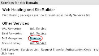 cara ganti domain blogspot di Domain.com