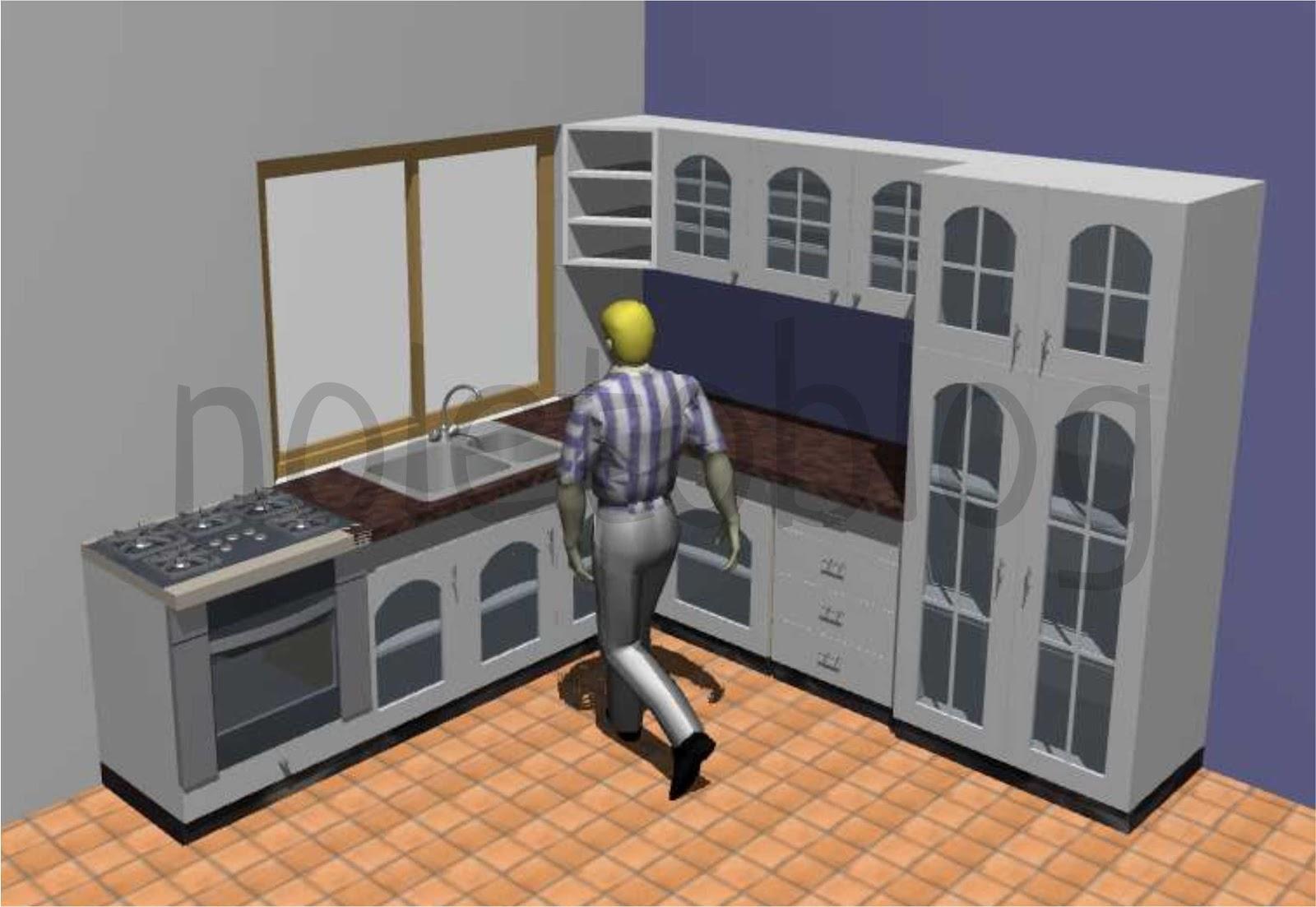 noletoblog: Objetos de ArchiCAD #1: Móveis de Cozinha #A26029 1600x1103