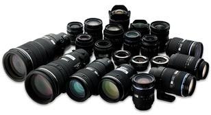 lensa kamera digital
