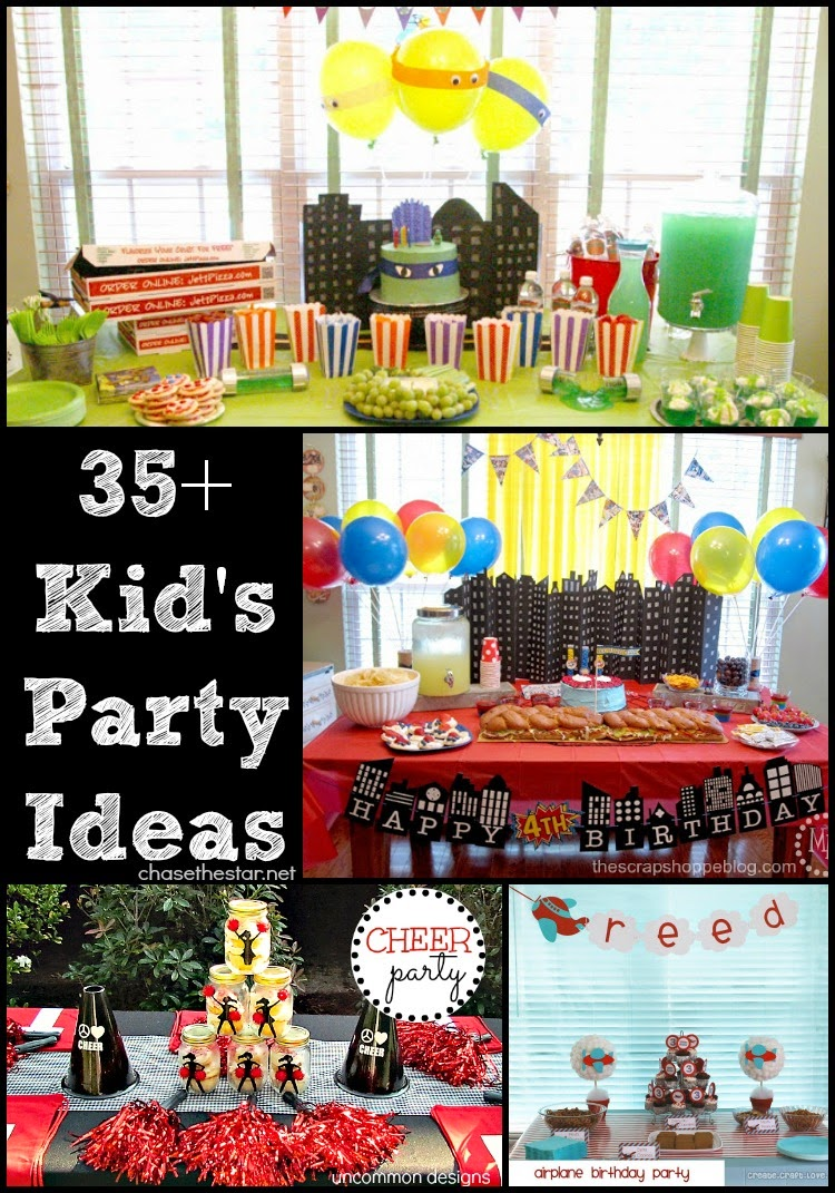 35+ Kid's Party Ideas