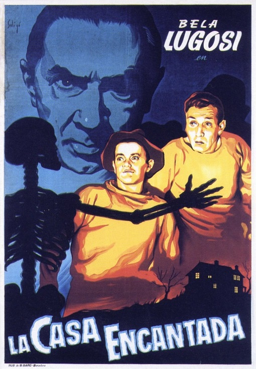 La Casa Encantada (Ghosts On The Loose) (1943)
