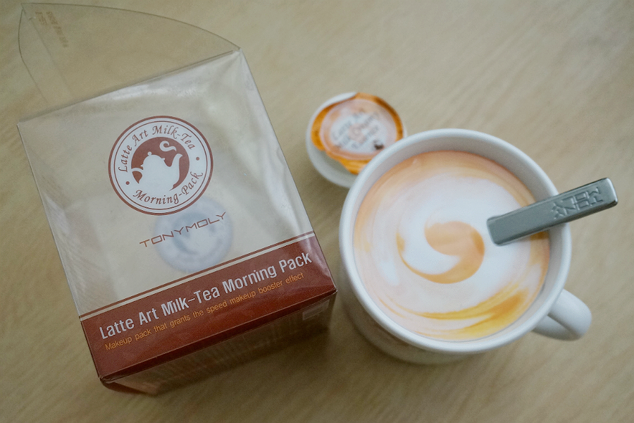 Tony Moly Latte Art Milk Tea Morning Pack