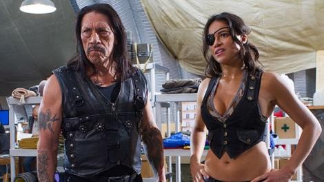 Michelle Rodriguez and Danny Trejo machete Kills Trailer