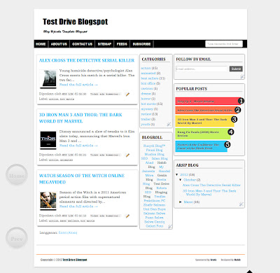 Free Download Fast Loading SEO Friendly Template V.04 3 Columns,