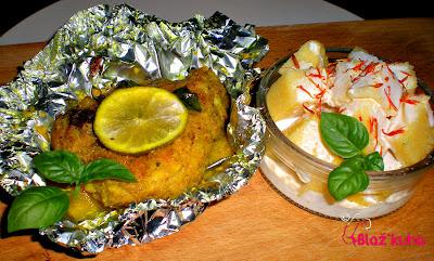 polenta, recepti s polente, piščanec, piščančja prsa
