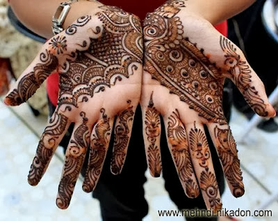 Eye Catching Bridal Dulhan Mehndi Designs