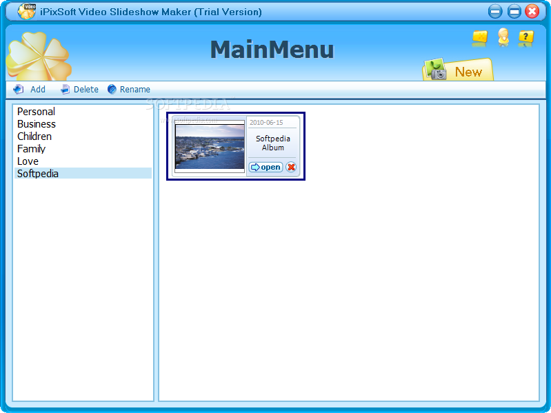 Download iPixSoft Video Slideshow Maker