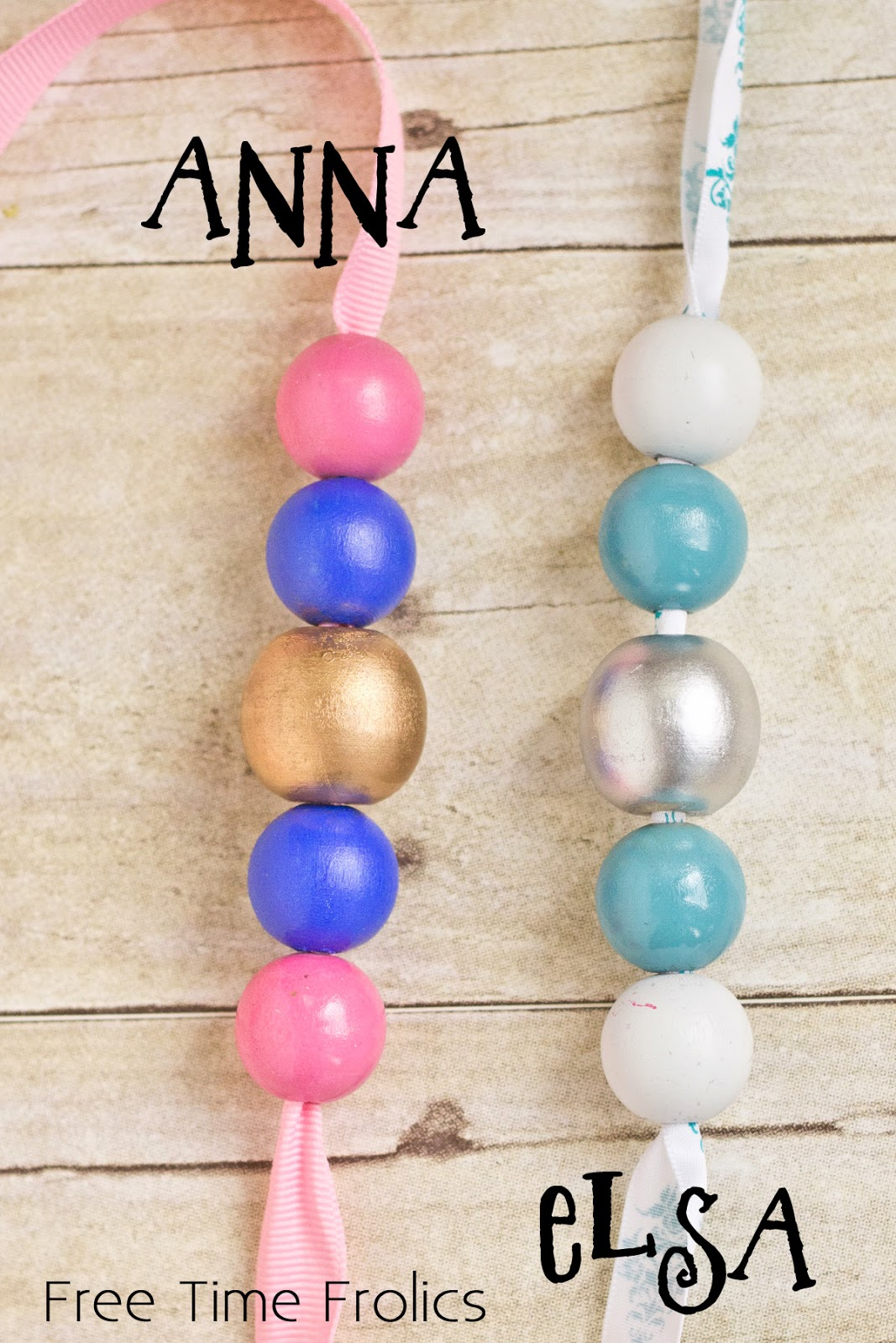 Frozen inspired necklace, party favor, dress up necklace