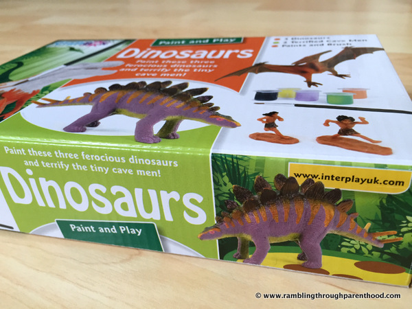 Paint and Play Dinosaurs by InterPlay UK
