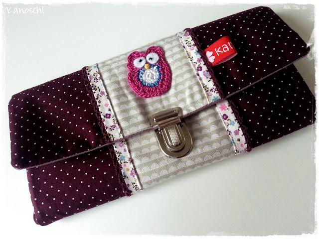 Portemonnaie, Geldtasche, Eule