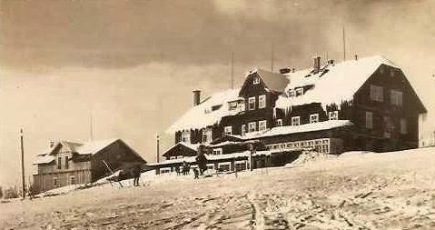 Liščí bouda v zimě