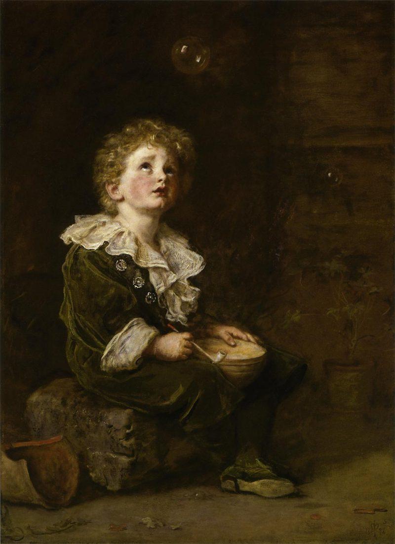 Victorian british painting john everett millais for John s painting
