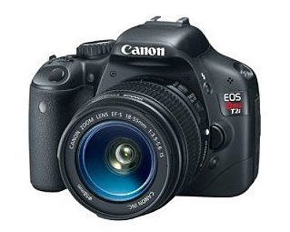 Canon EOS Rebel T2i 18 MP CMOS APS-C Digital SLR Camera