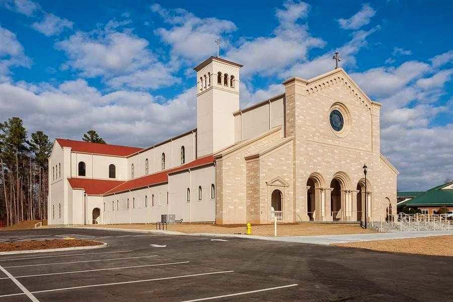 A nova igreja de Santa Catarina de Siena, teve efeito inspirador para os arquitetos
