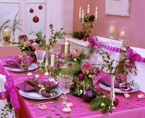 Decorar la mesa en navidad ideas para decorar dise ar y - Mesa navidena ...