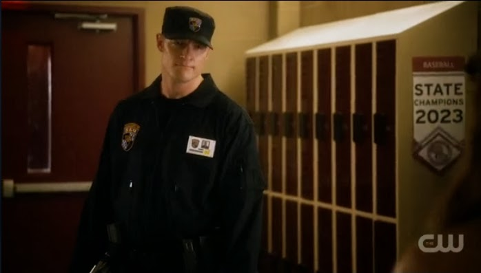 Officer Beaumont uniform photos screencaps Tahmoh Penikett Star-Crossed pics