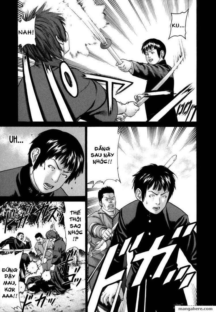 Karate Shoukoushi Kohinata Minoru chap 81 Trang 15