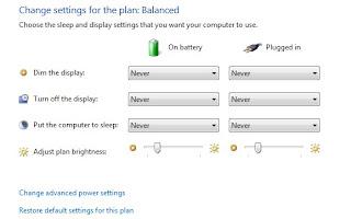 battery capacity plan