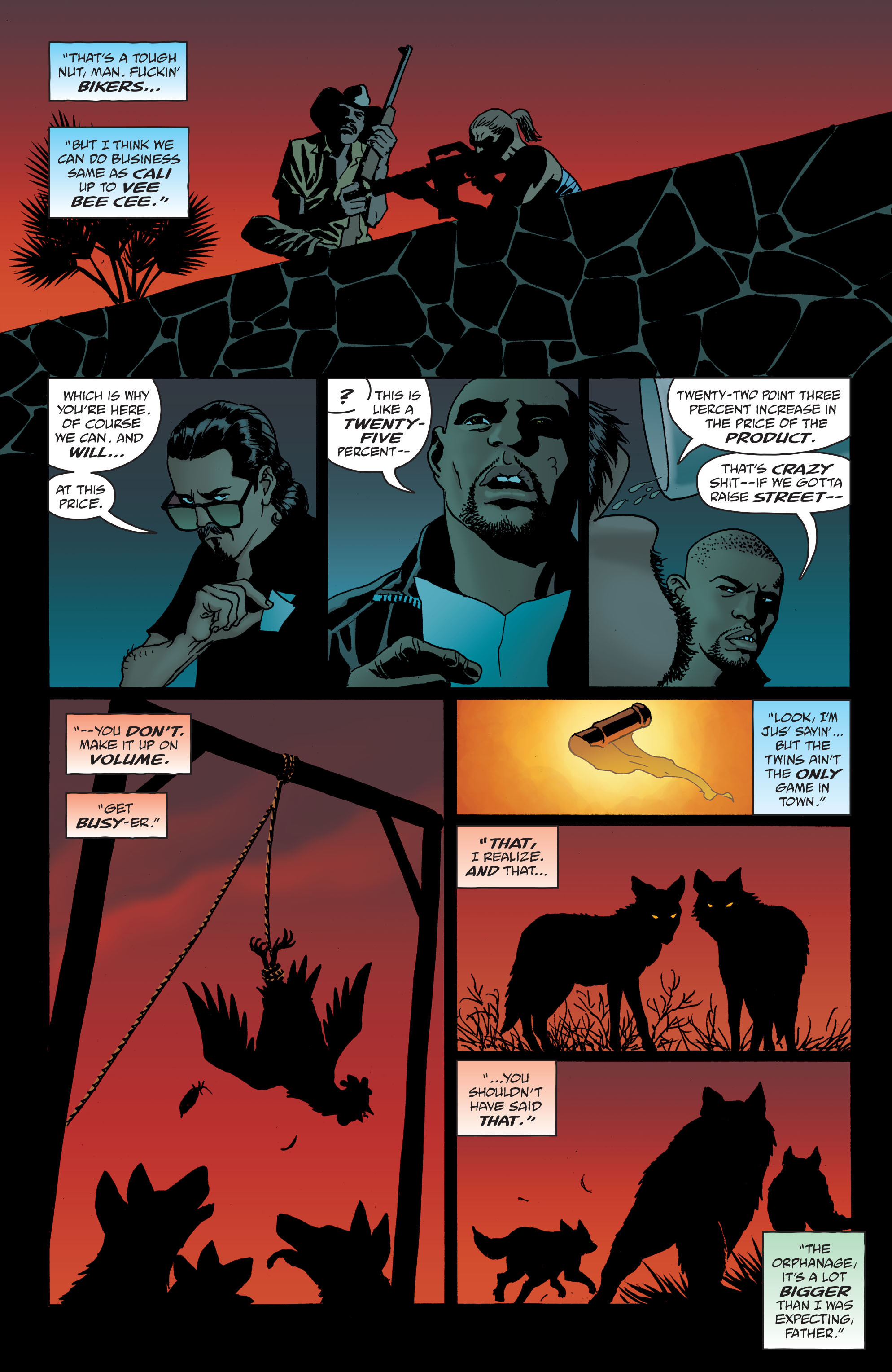 100 Bullets: Brother Lono Full Page 42