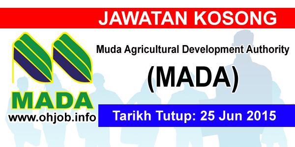 Jawatan Kerja Kosong Muda Agricultural Development Authority (MADA) logo www.ohjob.info jun 2015