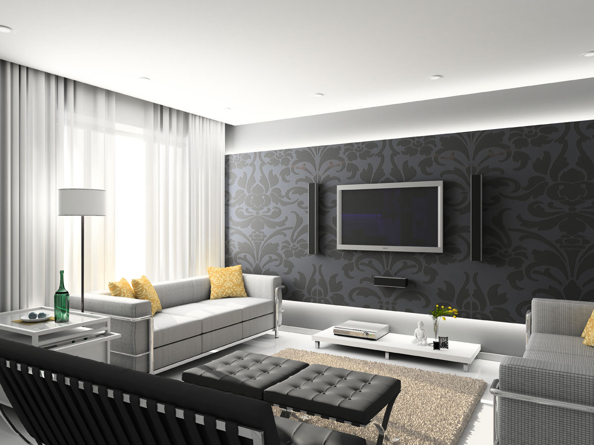 Modas e decora es decora o de casa e design de - Cortinas interiores casa ...