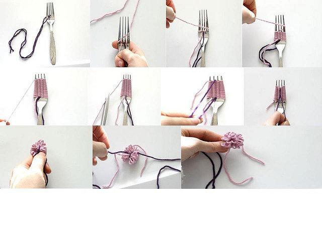 Enrhedando manualidades - Como hacer adornos para el pelo ...