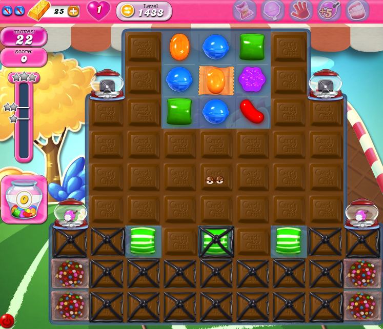 Candy Crush Saga 1433