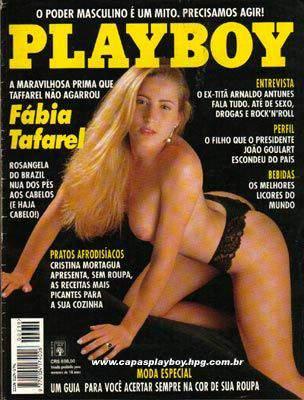 Fabia Tafarel - Playboy 1993